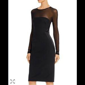 Donna Karan Black Illusion Dress